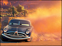 The character Doc Hudson from the animated film Cars