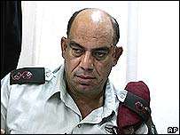 Omar el-Heib at his trial in Tel Aviv
