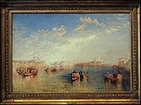 Giudecca, La Donna della Salute and San Giorgio by JMW Turner