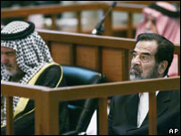 Saddam Hussein and co-defendants
