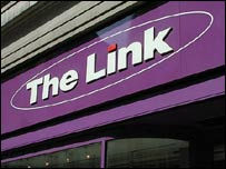 The Link shop front