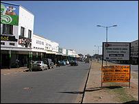 Zambian town of Kabwe