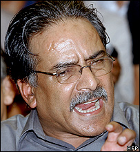 Rebel leader Prachanda