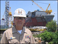Commander Chris Mercer, US Navy