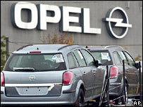 Opel car plant in Bochum