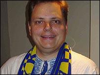World Cup debutant panellist Andriy Hunder