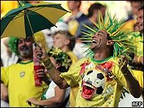 Aficionados brasile�os.