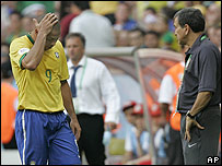 Ronaldo es reemplazado ante Australia.