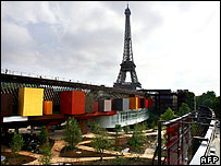 Musee du Quai Branly in Paris