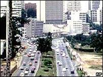 Abidjan skyline