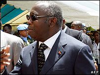 President Laurent Gbagbo of Ivory Coast