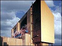 Hartlepool nuclear power station