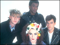 Culture Club's original members (l to r) Roy Hay, Mikey Craig, Boy George and Jon Moss
