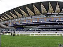 Ascot's new grandstand