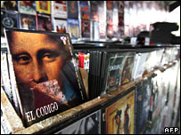 Pirated films for sale in Venezuela