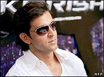 Bollywood star Hrithik Roshan
