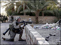 Kilo company soldiers in Haditha in October 2005