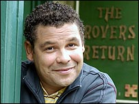 Craig Charles as Lloyd Mullaney in Coronation Street