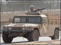 US Humvee in Iraq