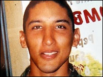 Kristian Menchaca, one of two US soldiers missing in Iraq whose body has been found