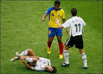 Bbc Sport Football World Cup 2006 Ecuador V Germany