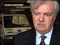 Former Welsh Ambulance Service interim chief executive Roger Thayne