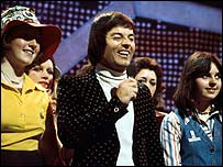 Tony Blackburn on Top of the Pops