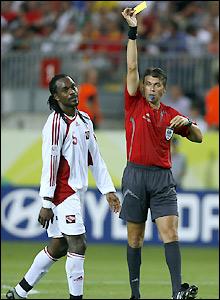 Referee Roberto Rosetti books Sancho