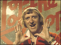 Sir Jimmy Savile presenting Top of the Pops