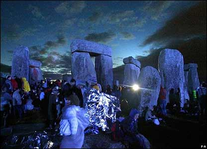 Party at Stonehenge