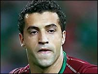 Simao Sabrosa, scorer of Portugal's second goal