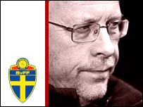 Sweden coach Lars Lagerback