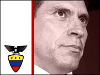 Ecuador coach Luis Fernando Suarez