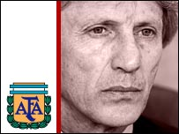 Argentina coach Jose Pekerman