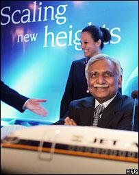 Jet chairman Naresh Goyal
