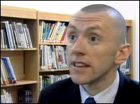 Tony Davies head teacher