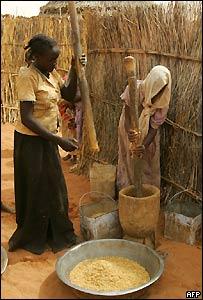 Mujeres sudanesas