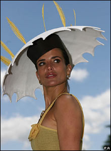 Model Sophie Anderton at Ascot
