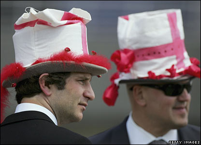 Two men at Ascot