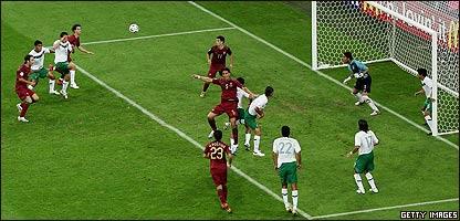 M�xico contra Portugal