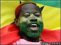 Ghana supporter