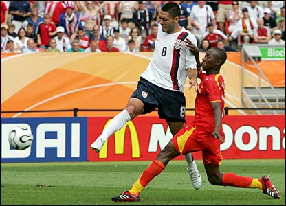 Clint Dempsey scores for the USA