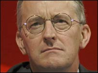 International Development Secretary Hilary Benn