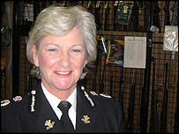South Wales Police chief constable Barbara Wilding