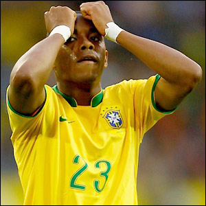 Robinho rues a missed opportunity