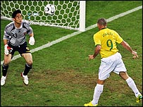 Ronaldo heads home the equaliser