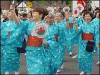 Japanese choir at Llangollen