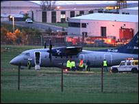 Aircraft at Aberdeen Airport/Pic: Newsline