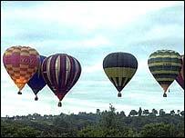 Balloons over Stratford