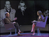 Harold Pinter talks to Kirsty Wark